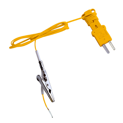 ATA1 – Type-K Thermocouple with Alligator Clip