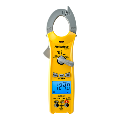 SC260 – Compact Clamp Meter with True RMS